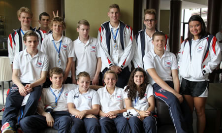 Great Britain Deaf Swimming team