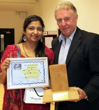 Khalida Tariq wins Tom Meek Award
